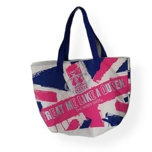 Body Shop Treat Me Like a Queen Tote Bag